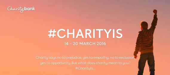 #CHARITYIS Social Media Campaign March 14th – 20th